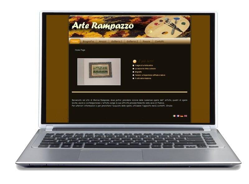 arterampazzo site portfolio