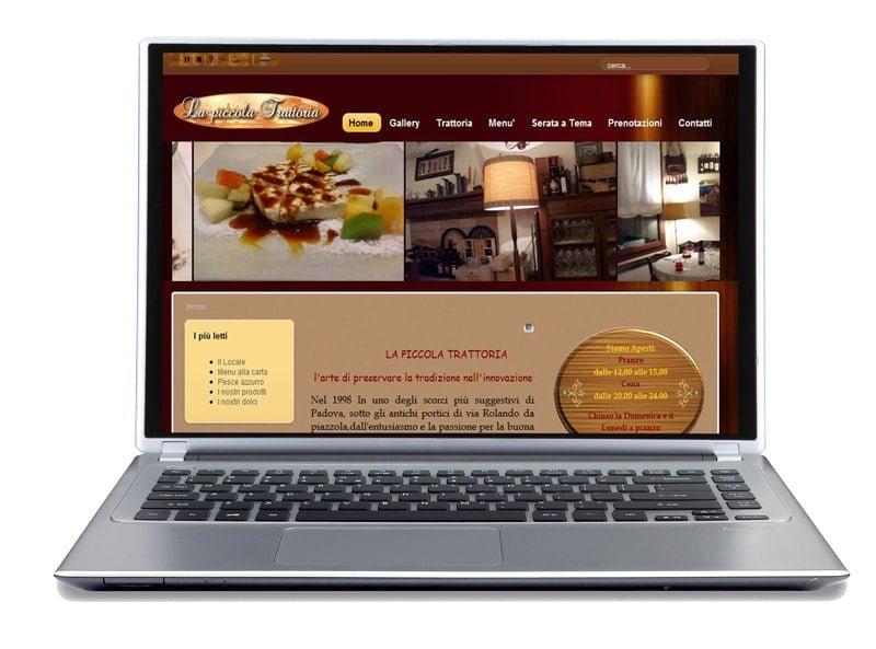 small trattoria site portfolio