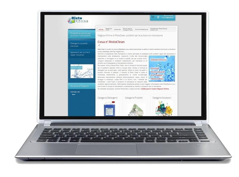 social e-commerce site ristoclean