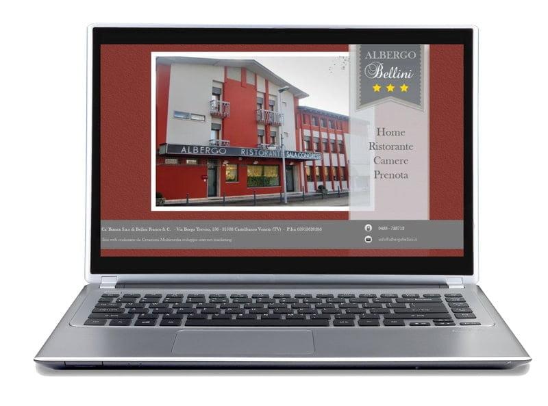 showcase site for 3-star hotel