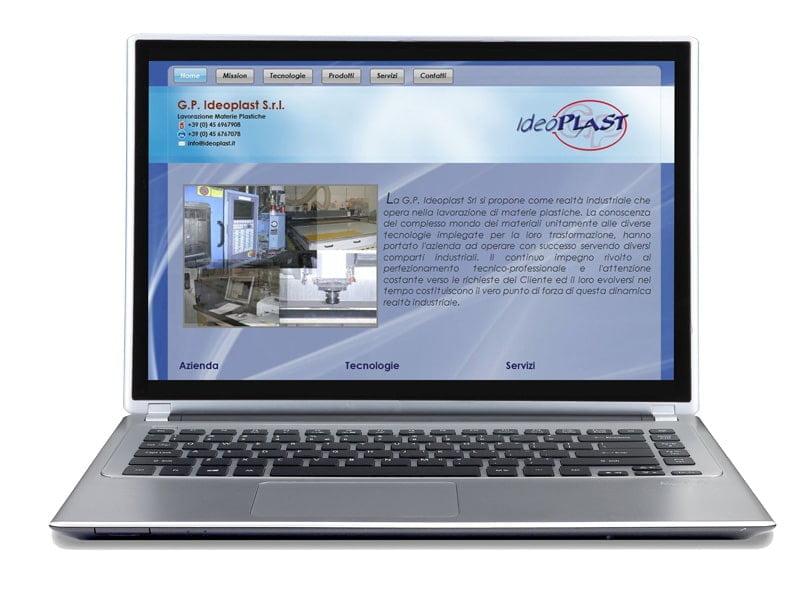 ideoplast srl showcase site