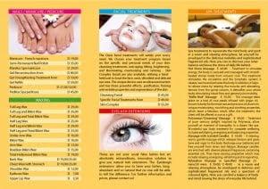 Aesthetic center brochure