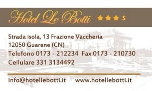 Realization of a 3-star hotel business card