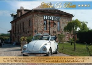 Realization of flyer for hotel - front