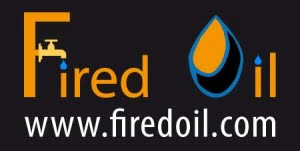creation of the fired oil logo