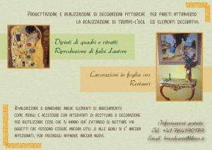 retro decorator flyer