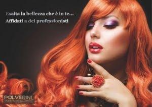 hairdresser flyer for woman