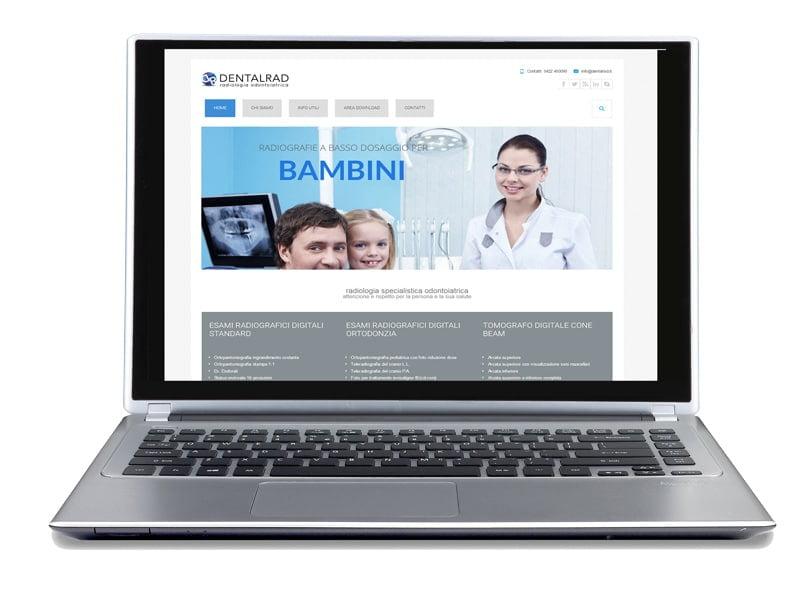 dentalrad medical office website