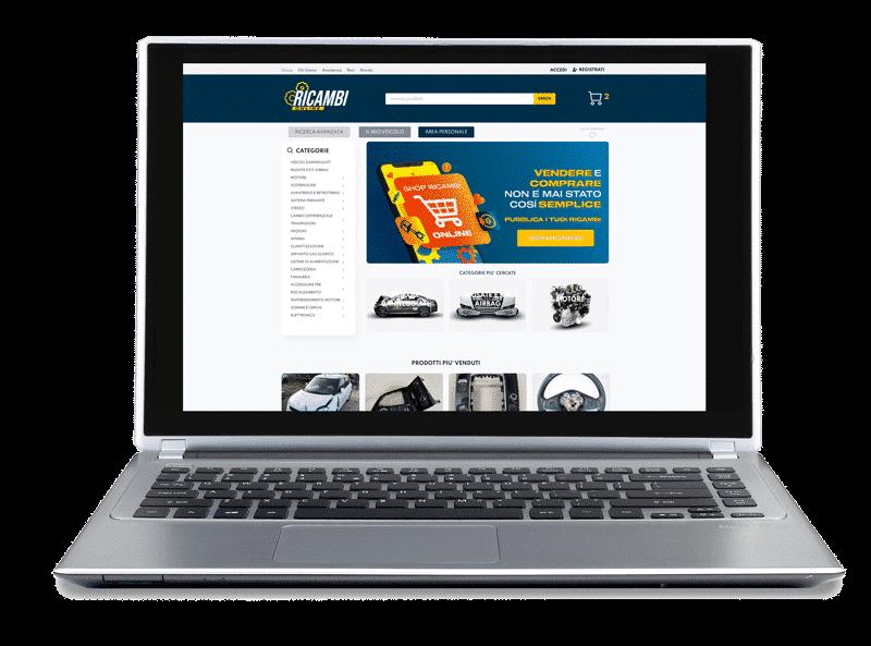 online spare parts site portfolio